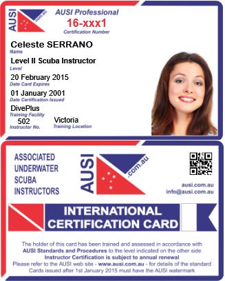 Ausi - scuba & snorkel diving certification, FREE downloads